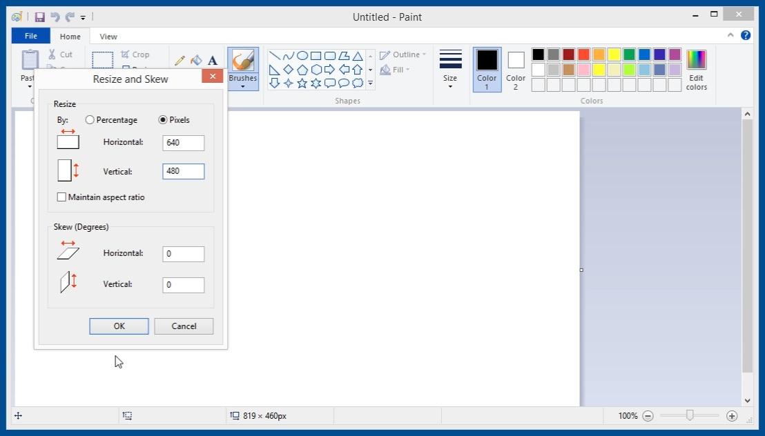 Creating 900kB bitmap image