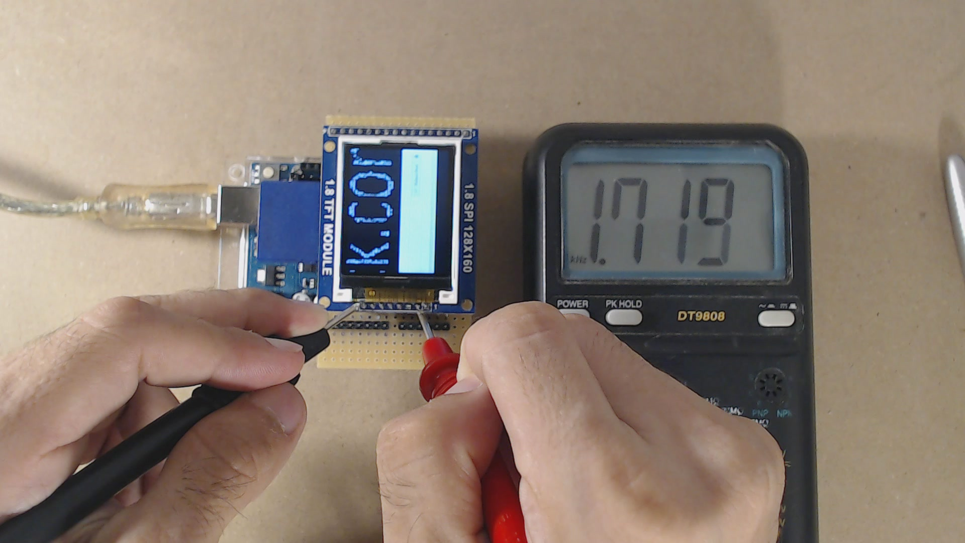 How to play a video on Arduino Uno (4/6): playing a 20 fps