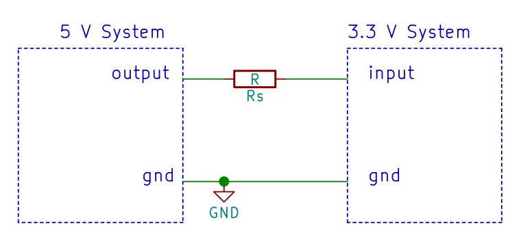 How to interface a 5V output to a 3 3V input  – next-hack com