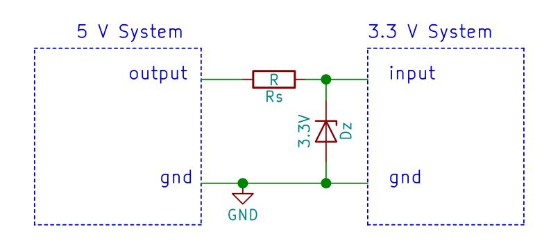 Zener diode clamp