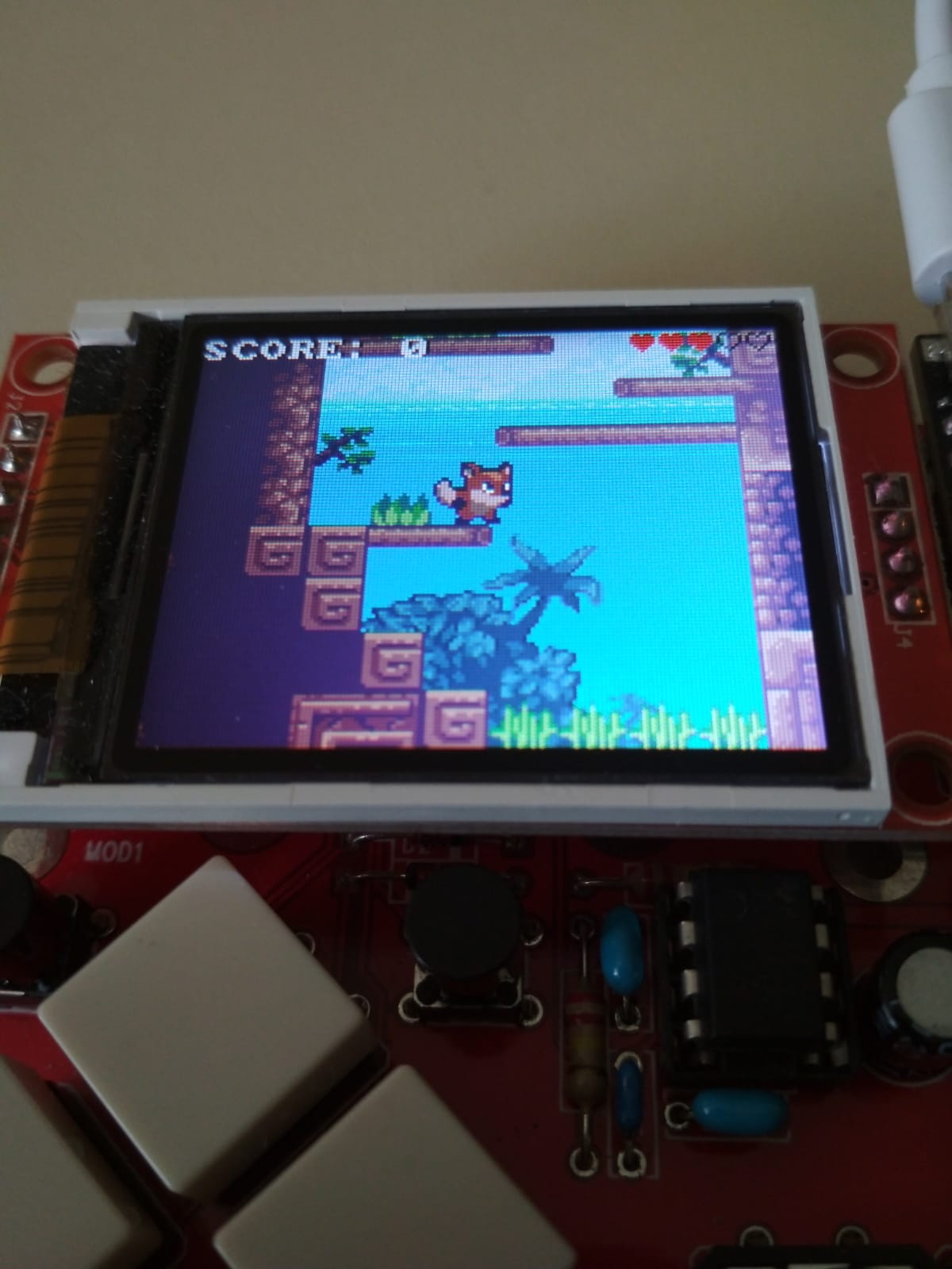 Let's build a handheld 40-fps platform game with a Cortex